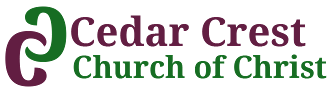 Cedar Crest Church of Christ, Logo